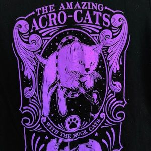 🔥THE AMAZING ACRO-CATS ladies t-shirt🔥